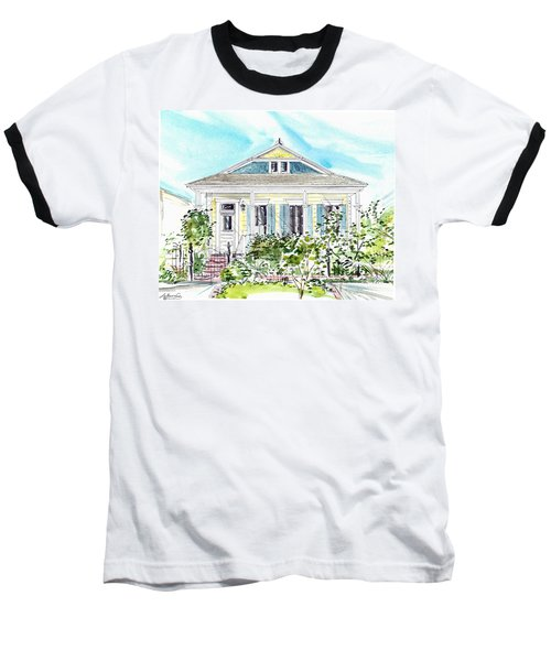 New Orleans Victorian Baseball T-Shirt