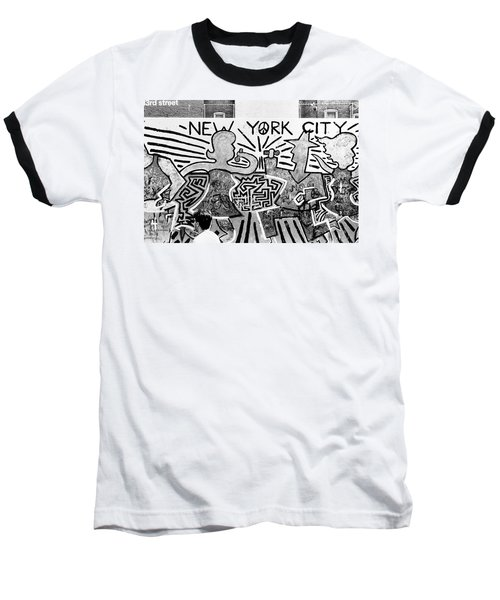 New York City Graffiti Baseball T-Shirt