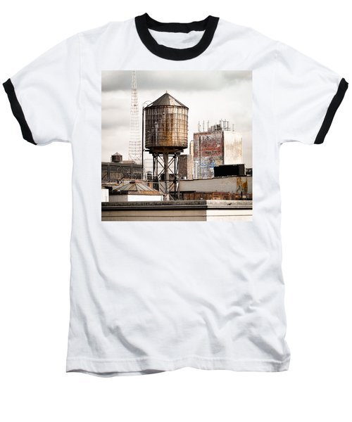 New York Water Tower 16 Baseball T-Shirt