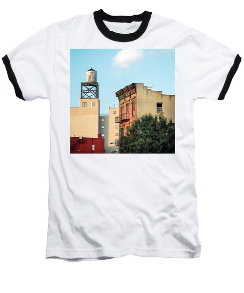New York Water Tower 3 Baseball T-Shirt