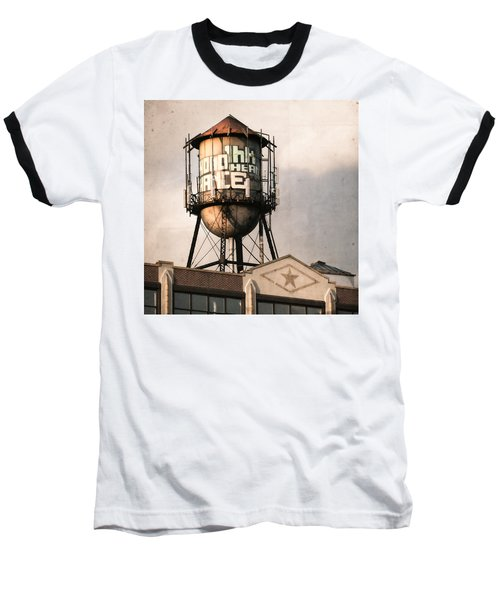 New York. Water Towers 6 Baseball T-Shirt