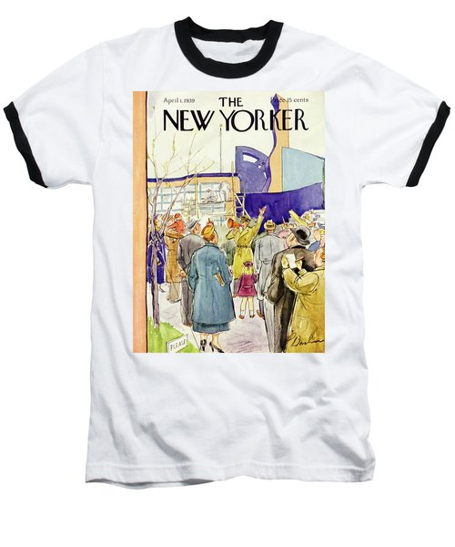 New Yorker April 1 1939 Baseball T-Shirt