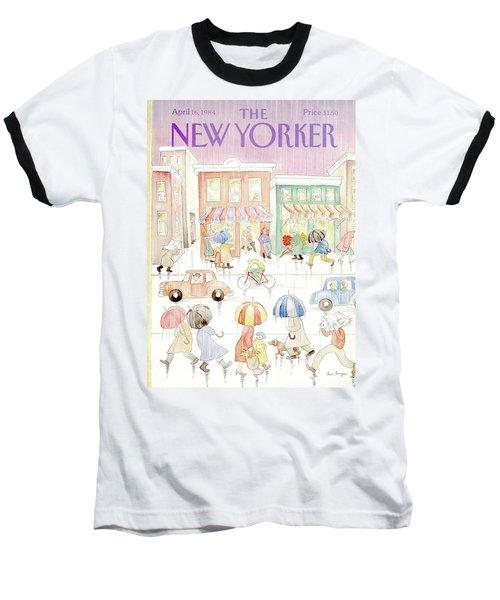 New Yorker April 16th, 1984 Baseball T-Shirt