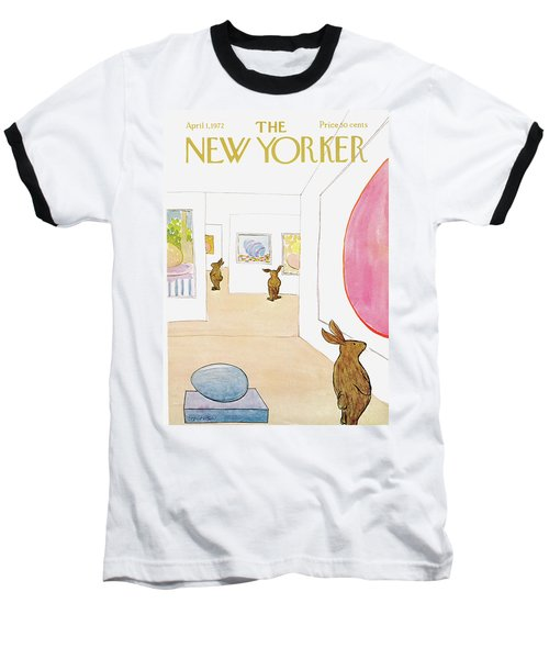 New Yorker April 1st, 1972 Baseball T-Shirt