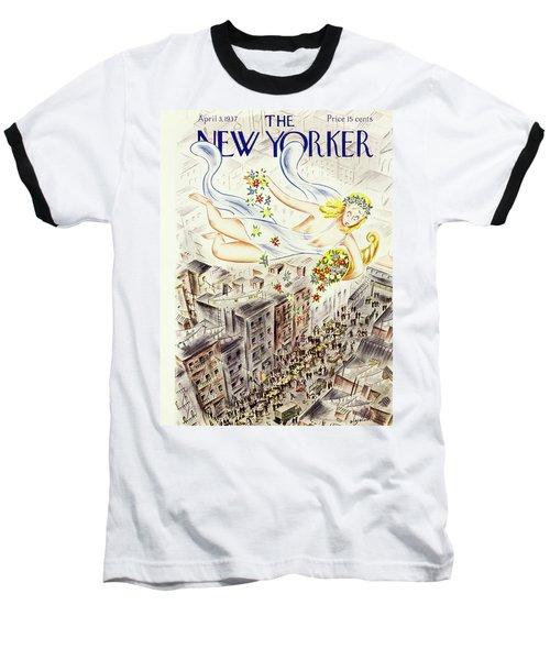 New Yorker April 2 1937 Baseball T-Shirt