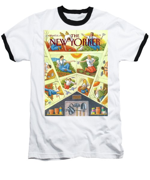 New Yorker April 22nd, 1991 Baseball T-Shirt