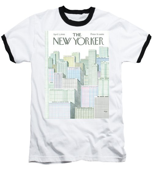 New Yorker April 2nd, 1966 Baseball T-Shirt