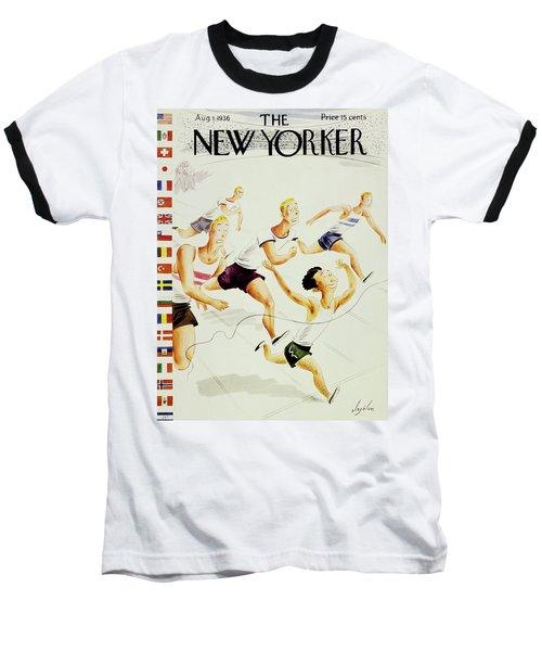 New Yorker August 1 1936 Baseball T-Shirt