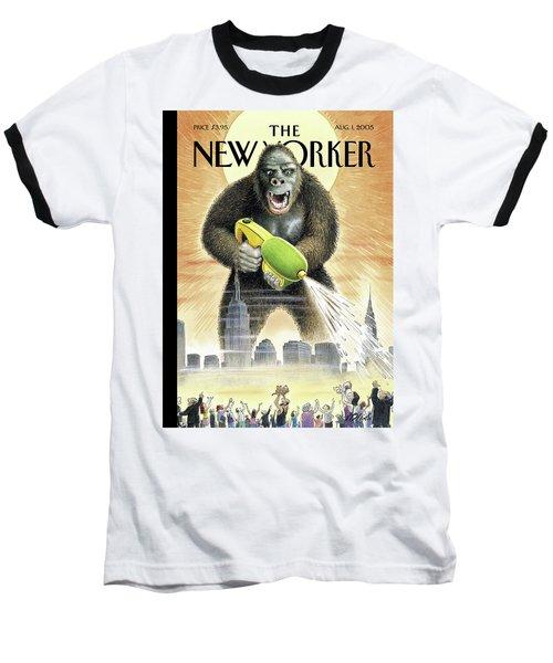 New Yorker August 1st, 2005 Baseball T-Shirt