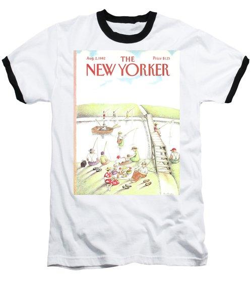 New Yorker August 2nd, 1982 Baseball T-Shirt