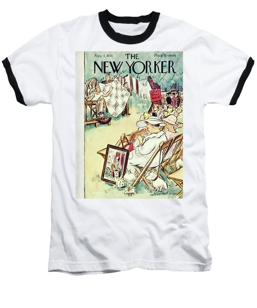 New Yorker August 3 1935 Baseball T-Shirt