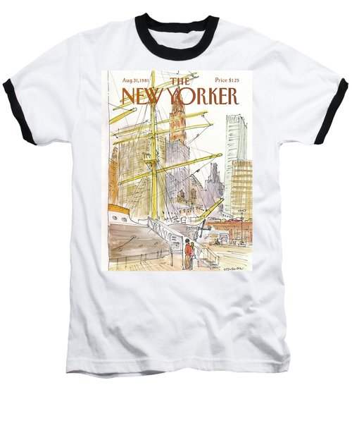 New Yorker August 31st, 1981 Baseball T-Shirt