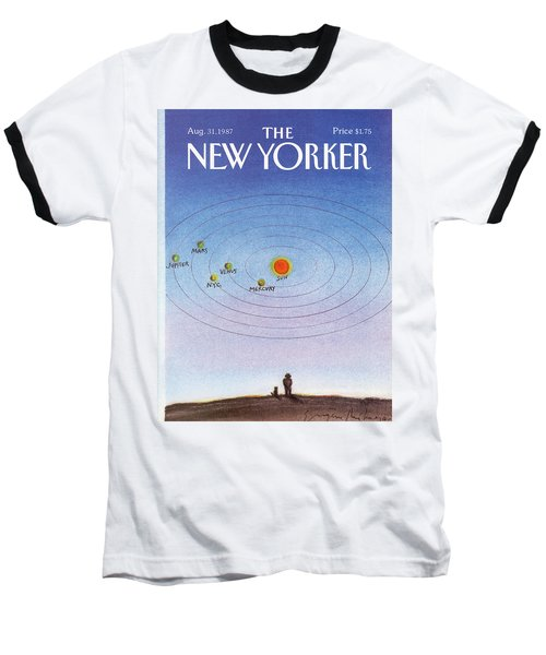 New Yorker August 31st, 1987 Baseball T-Shirt