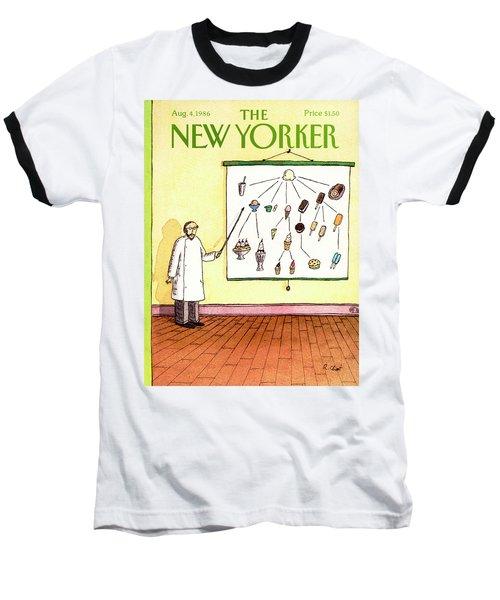 New Yorker August 4th, 1986 Baseball T-Shirt