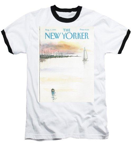 New Yorker August 5th, 1985 Baseball T-Shirt