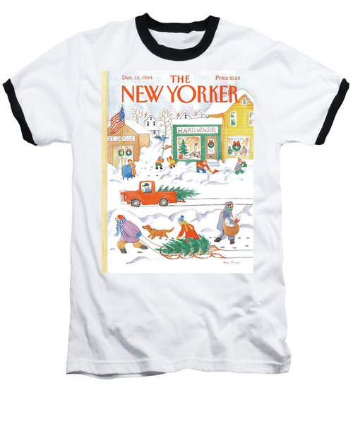 New Yorker December 10th, 1984 Baseball T-Shirt