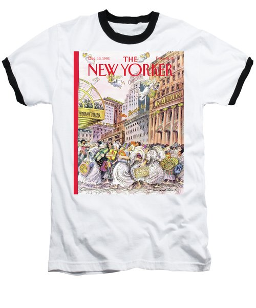 New Yorker December 13th, 1993 Baseball T-Shirt