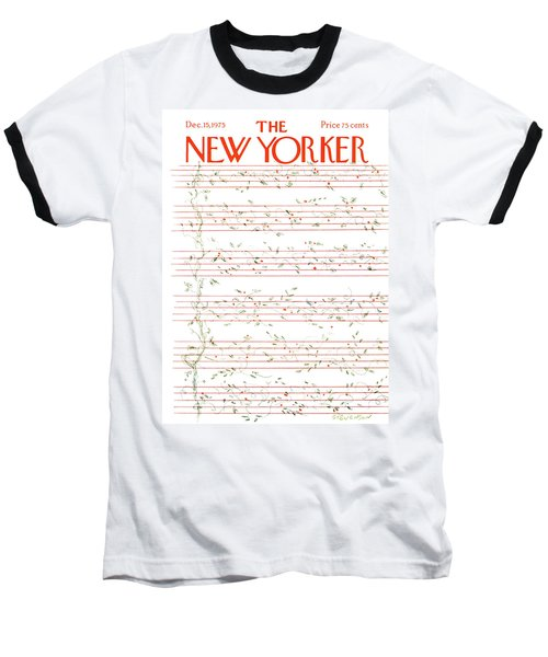 New Yorker December 15th, 1975 Baseball T-Shirt