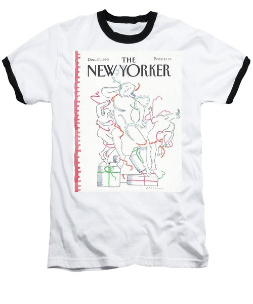 New Yorker December 17th, 1990 Baseball T-Shirt