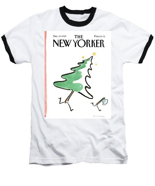 New Yorker December 19th, 1988 Baseball T-Shirt