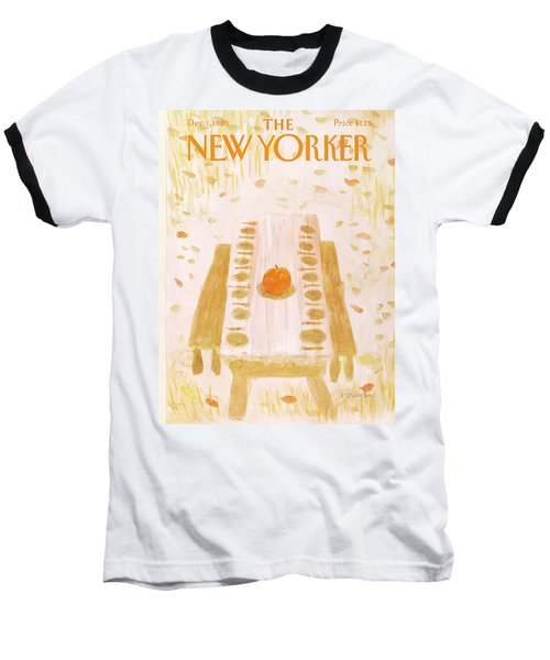 New Yorker December 1st, 1980 Baseball T-Shirt