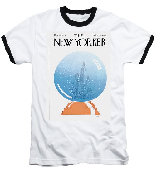 New Yorker December 22nd, 1975 Baseball T-Shirt