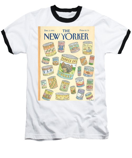 New Yorker December 2nd, 1991 Baseball T-Shirt