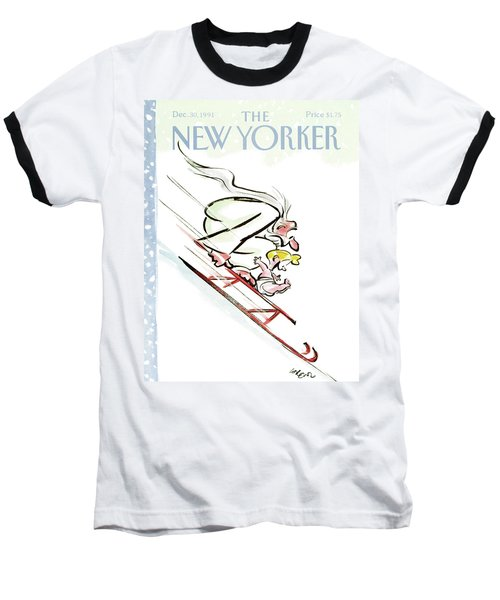 New Yorker December 30th, 1991 Baseball T-Shirt