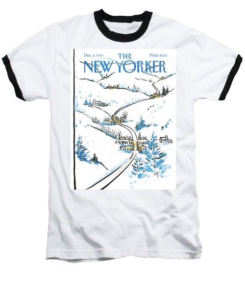 New Yorker December 8th, 1986 Baseball T-Shirt