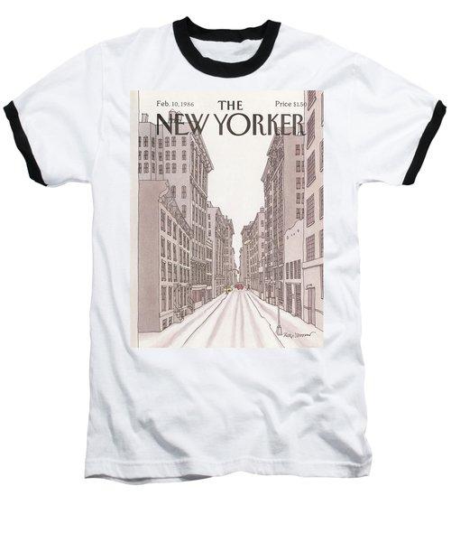 New Yorker February 10th, 1986 Baseball T-Shirt