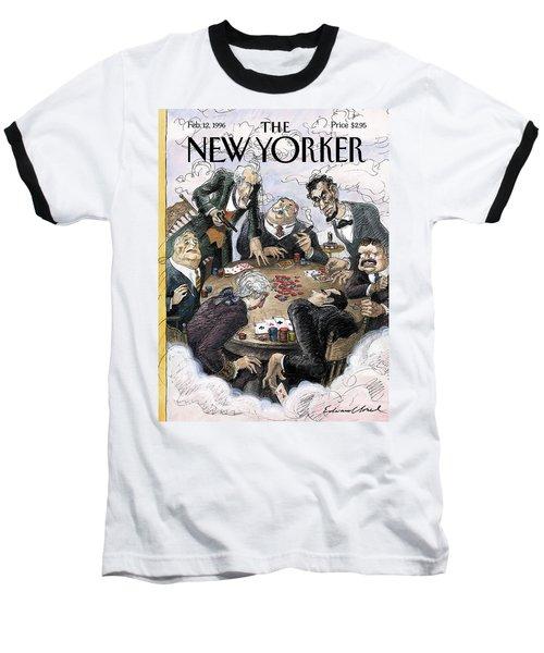 New Yorker February 12th, 1996 Baseball T-Shirt