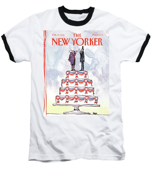 New Yorker February 19th, 1990 Baseball T-Shirt
