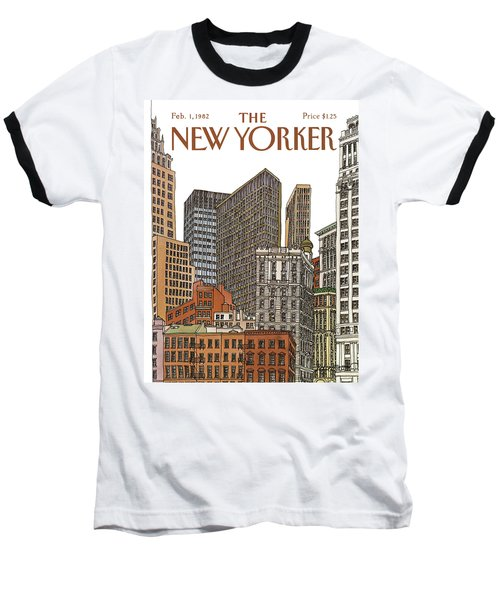 New Yorker February 1st, 1982 Baseball T-Shirt