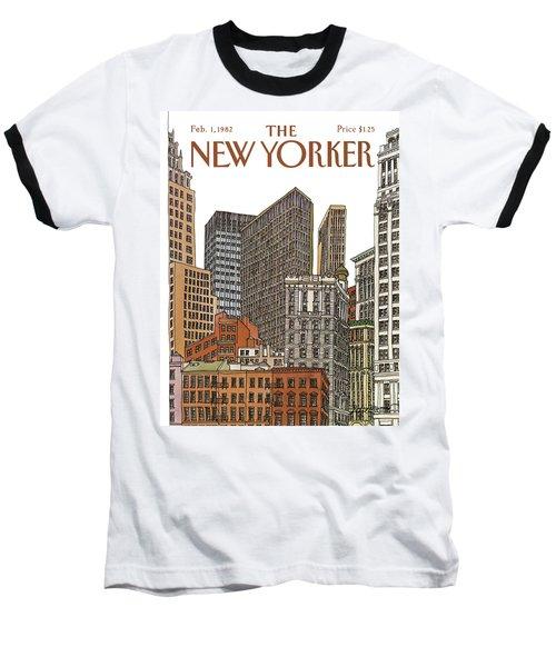 New Yorker February 1st, 1982 Baseball T-Shirt