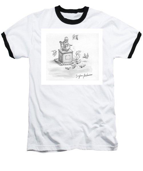 New Yorker February 23rd, 1976 Baseball T-Shirt