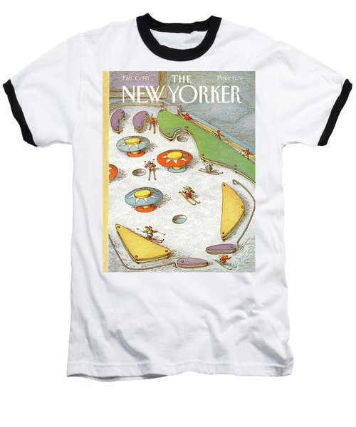 New Yorker February 4th, 1991 Baseball T-Shirt