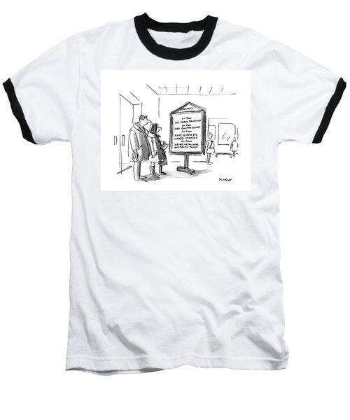 New Yorker January 10th, 1983 Baseball T-Shirt