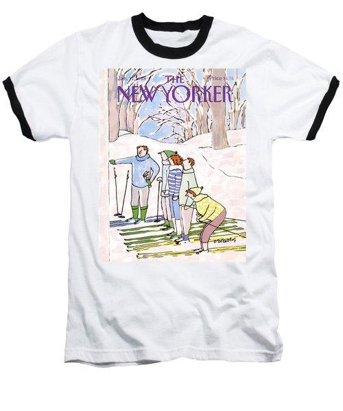 New Yorker January 11th, 1988 Baseball T-Shirt