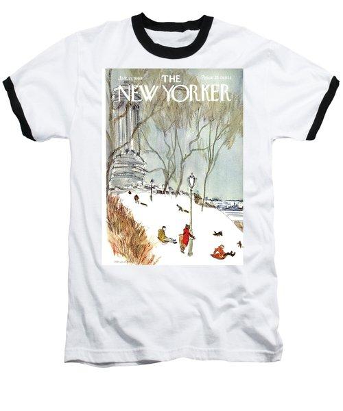 New Yorker January 27th, 1968 Baseball T-Shirt