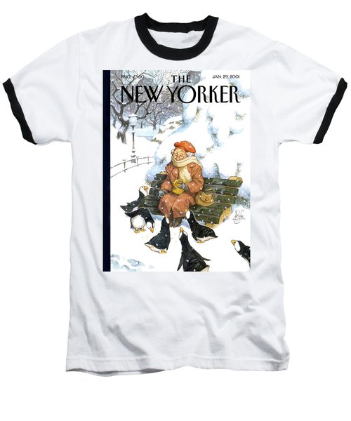 New Yorker January 29th, 2001 Baseball T-Shirt