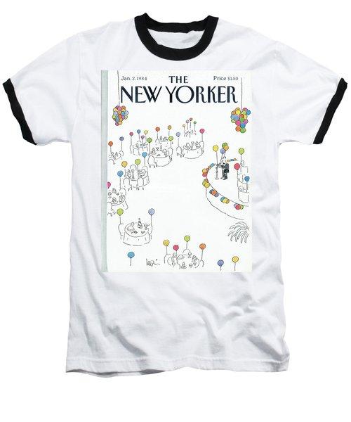 New Yorker January 2nd, 1984 Baseball T-Shirt