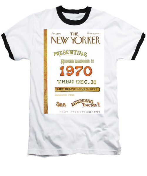 New Yorker January 3rd, 1970 Baseball T-Shirt