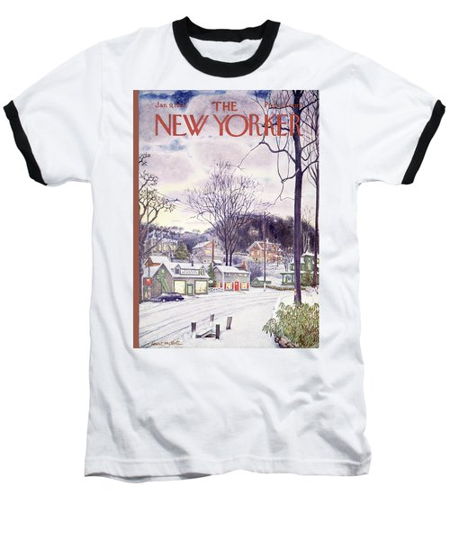 New Yorker January 9th, 1965 Baseball T-Shirt