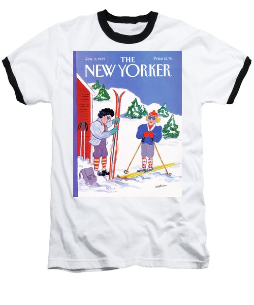 New Yorker January 9th, 1989 Baseball T-Shirt