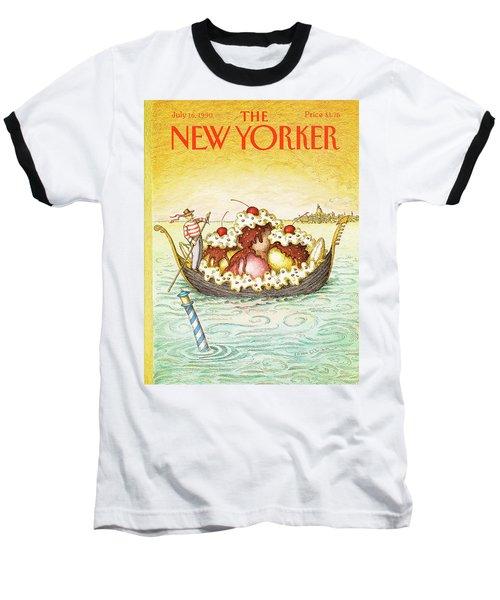 New Yorker July 16th, 1990 Baseball T-Shirt
