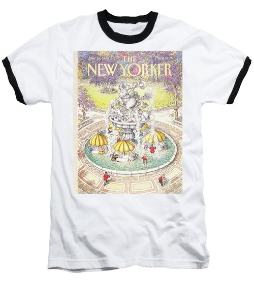 New Yorker July 18th, 1988 Baseball T-Shirt