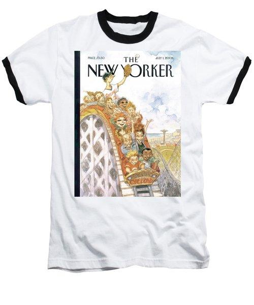 New Yorker July 1st, 2002 Baseball T-Shirt