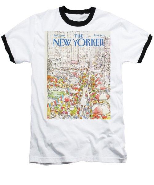 New Yorker July 27th, 1981 Baseball T-Shirt
