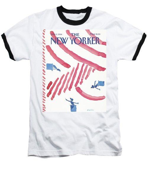 New Yorker July 2nd, 1984 Baseball T-Shirt