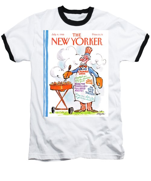 New Yorker July 4th, 1988 Baseball T-Shirt